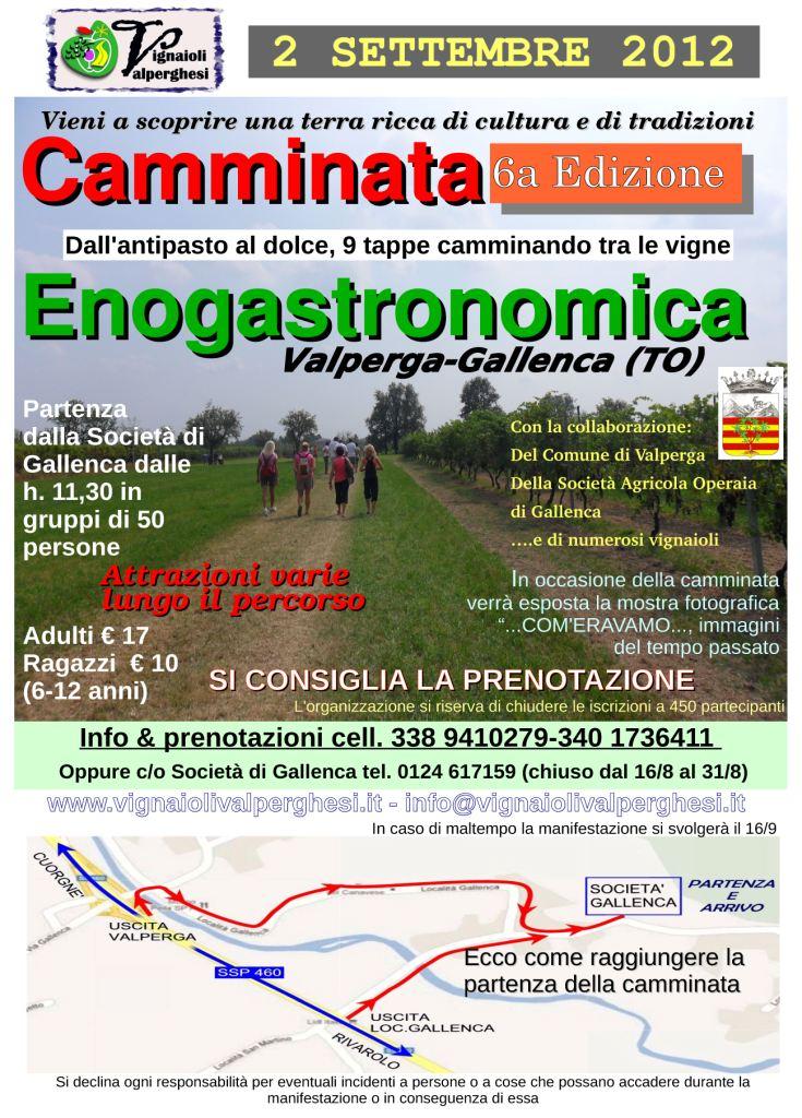 Camminata Enogastronomica 2012 - Vignaioli Valperghesi